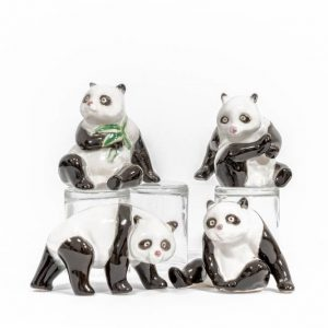 Panda Figurines - Set of 4 #71017
