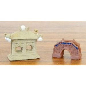 Building Figurines - Set of 2 Small #71127