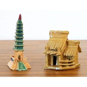 Building Figurines - Set of 2 Medium #71128